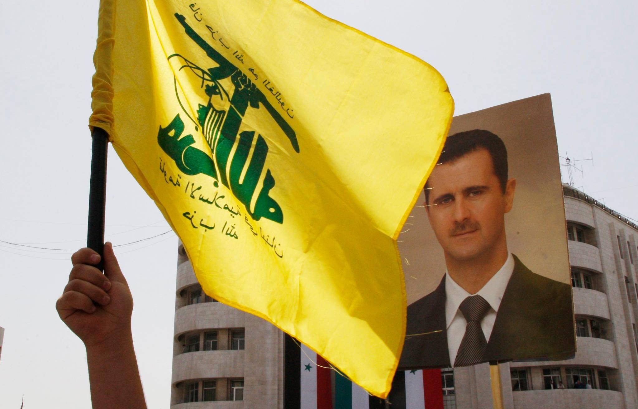 صورة حزب الله لم نغادر سوريا ولا جنوبها
