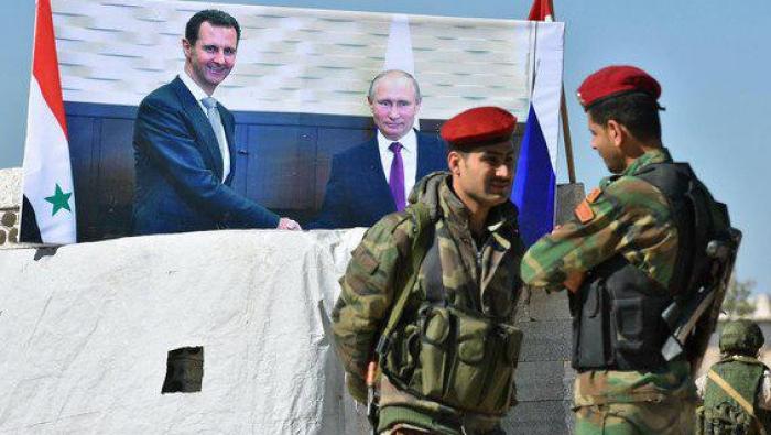 صورة وكالة: النظام يتجهز لمهاجمة المعارضة باللاذقية