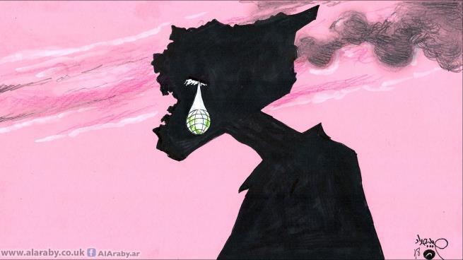 """صورة """"عسكرة – أسلمة – أدلجة"""" في المأساة السورية"""