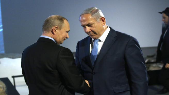 صورة لقاء بوتين – نتنياهو: إخراج إيران من سورية لرفع العقوبات عن روسيا