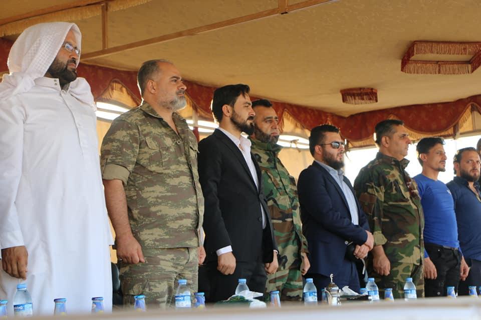 """صورة """"الجيش الوطني"""" ينظيم العسكرة بريف حلب"""