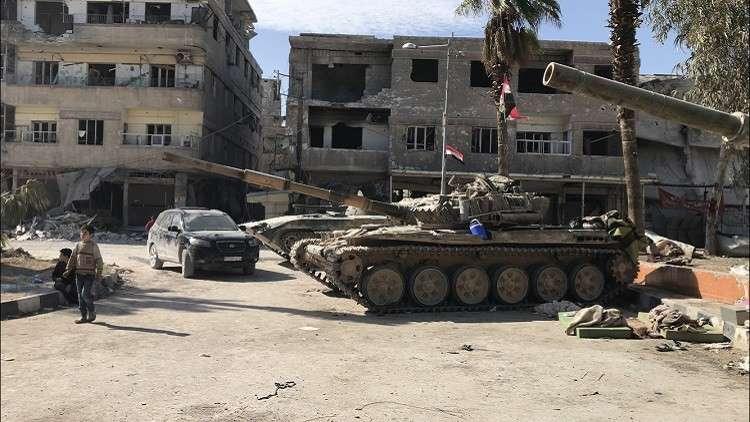 صورة درعا..عشرات القتلى والجرحى للنظام بمفخخة لتنظيم الدولة