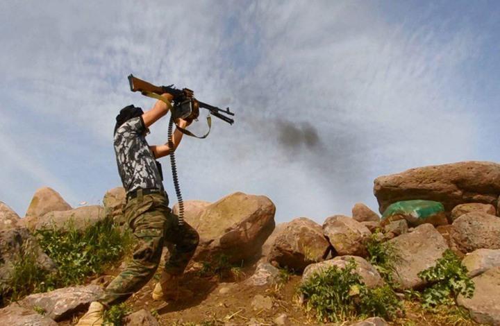 صورة حوض اليرموك..مواجهات عنيفة بين النظام وجيش خالد