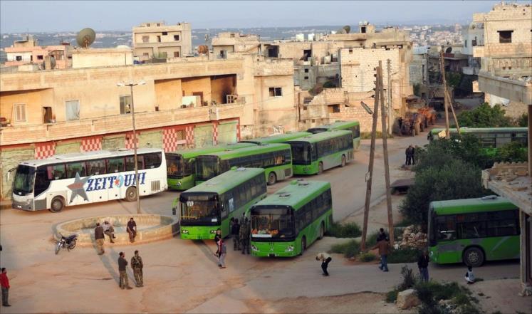 صورة نقل تنظيم الدولة من درعا للسويداء