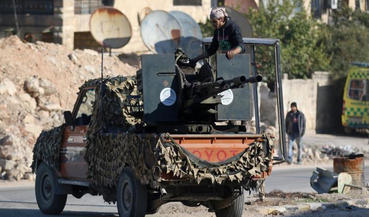 """صورة قتلى للنظام بهجوم لـ""""الحر"""" شمال حلب"""