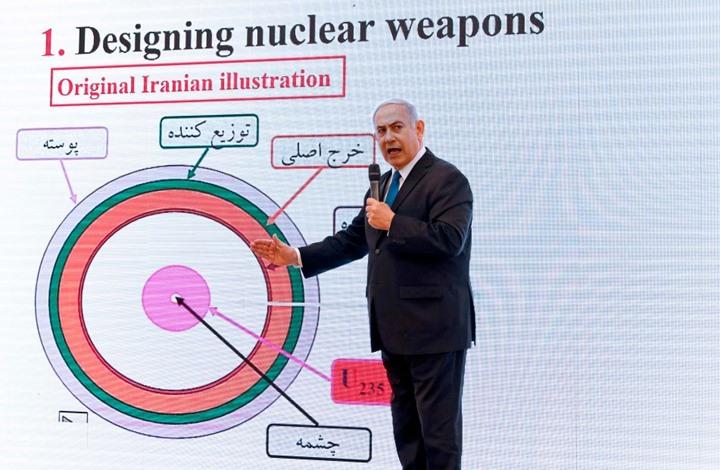 صورة مفاجأة من العيار الثقيل..أرشيف النووي الإيراني بيد إسرائيل؟