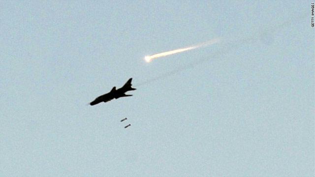 صورة الجيش الإسرائيلي يسقط مقاتلة حربية للأسد
