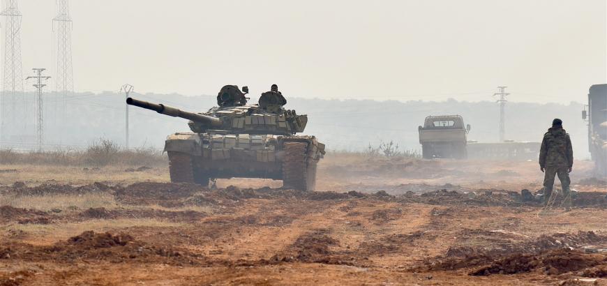 صورة حوض اليرموك..النظام يسيطر على بعض القرى
