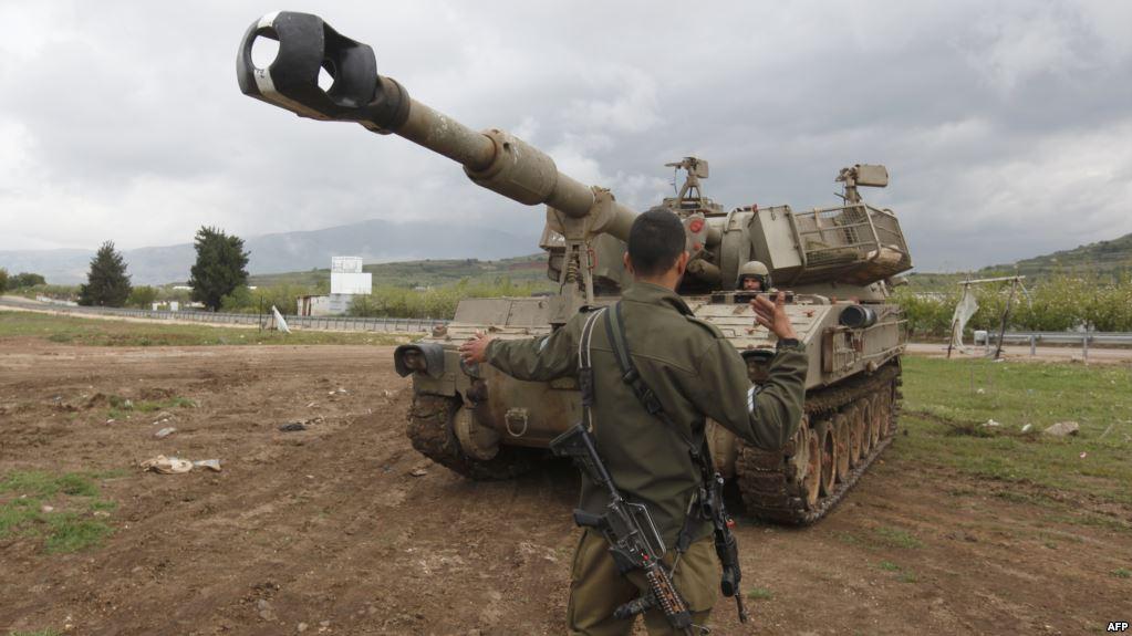 صورة تعزيزات إسرائيلية إلى هضبة الجولان المحتل