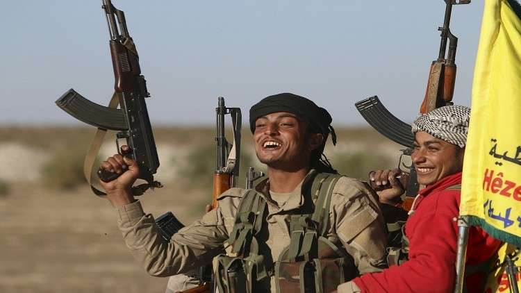 صورة أنباء عن موافقة الأكراد على تسليم النفط للنظام