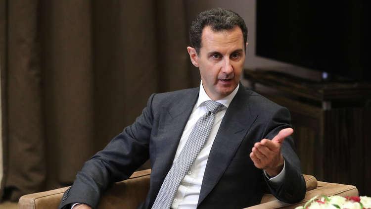 صورة الأسد يهدد إدلب ويتوعد الدفاع المدني