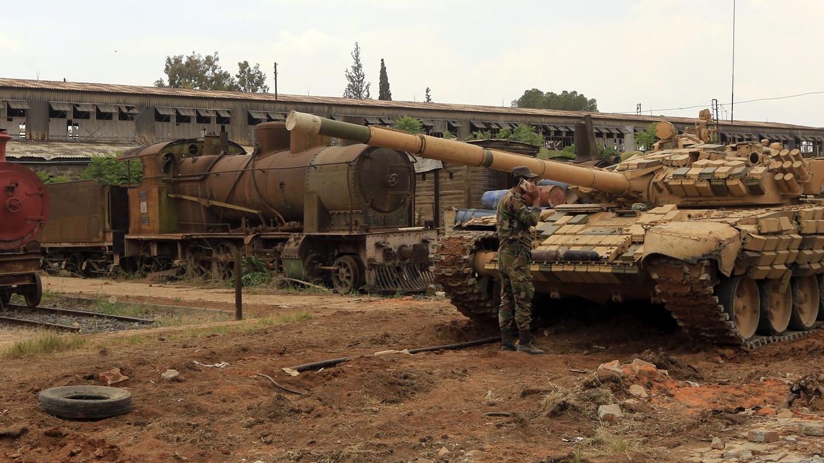 صورة 7 بلدات تفصل النظام عن إنهاء معركته مع جيش خالد