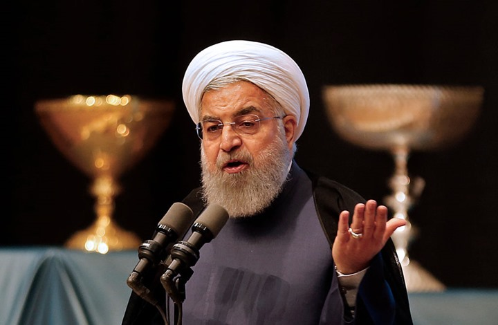 صورة روحاني لترامب: لا تعبث بذيل الأسد وإلا ستندم