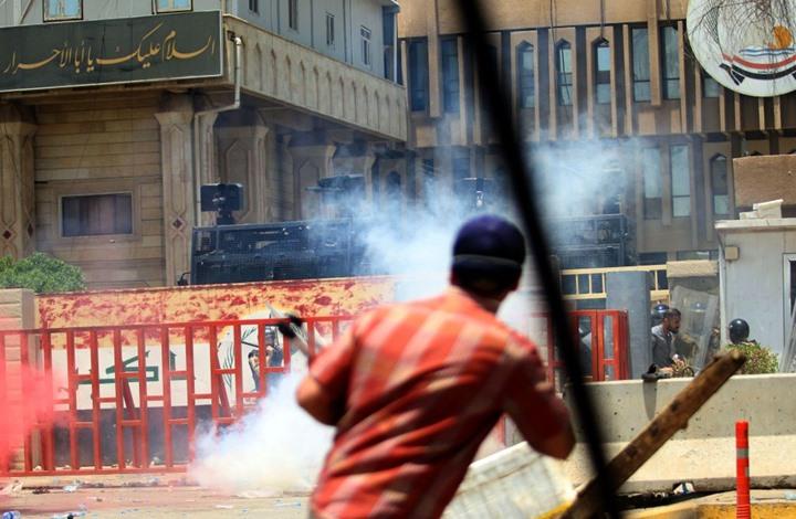 صورة تواصل الاحتجاجات في العراق.. قتلى ومئات الجرحى