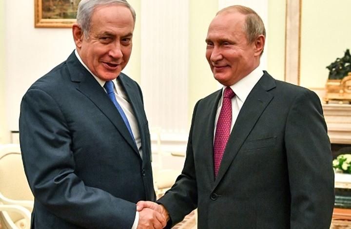 صورة تنسيق إسرائيلي روسي لتأمين حدود سوريا