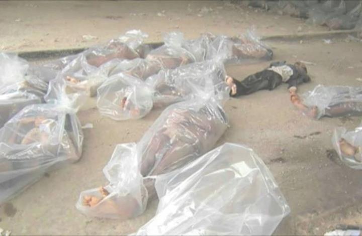 """صورة هكذا قتل النظام """"سمية"""" في """"صيدنايا"""" وأحرق ابنها"""