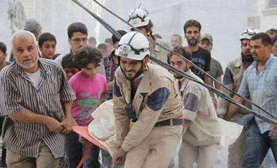 صورة نظام الأسد يصف إجلاء عناصر الخوذ البيضاء بالعملية الإجرامية