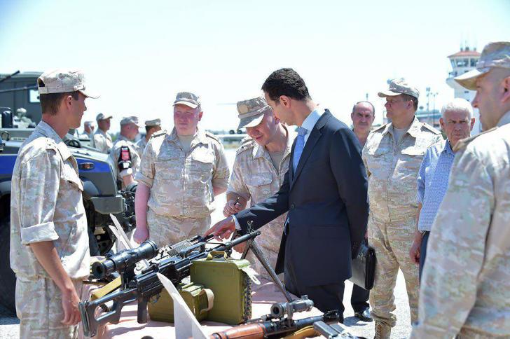 صورة الأسد يطالب الجيش الروسي ببقاء طويل الأمد