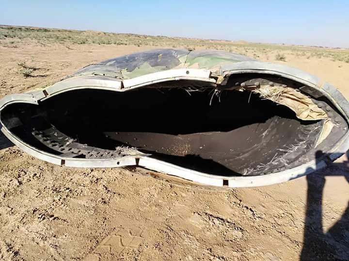 صورة تحطم طائرة حربية بالحسكة..ومصادر ترجح أنها للتحالف الدولي
