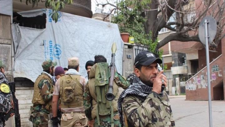 صورة ميليشيات إيرانية تصل حدود الجولان المحتل