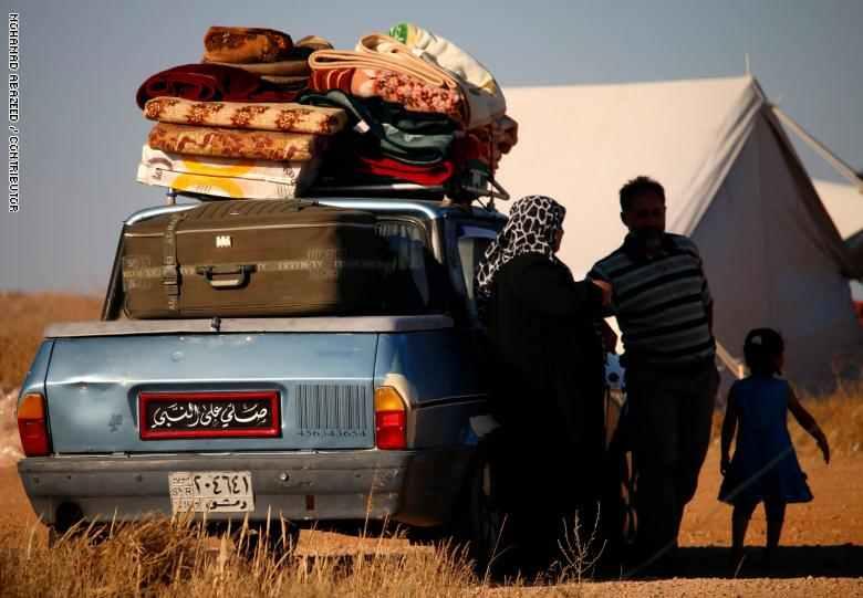 صورة منظمة: على الأردن وإسرائيل فتح الحدود أمام السوريين