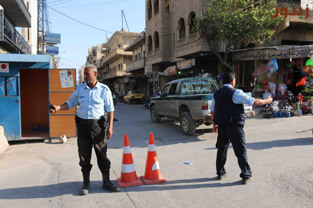 صورة اغتيال قائد عسكري للحر وأمني في إدلب