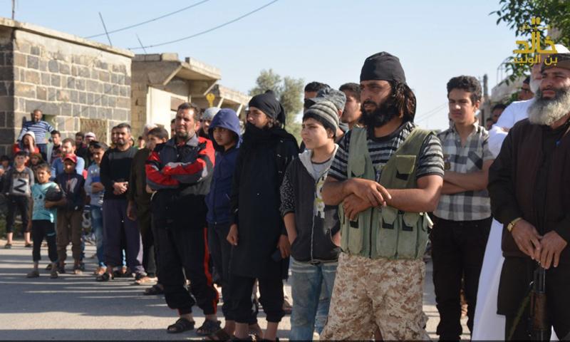 """صورة """"جيش خالد"""" يدخل إلى قرى في القنيطرة"""