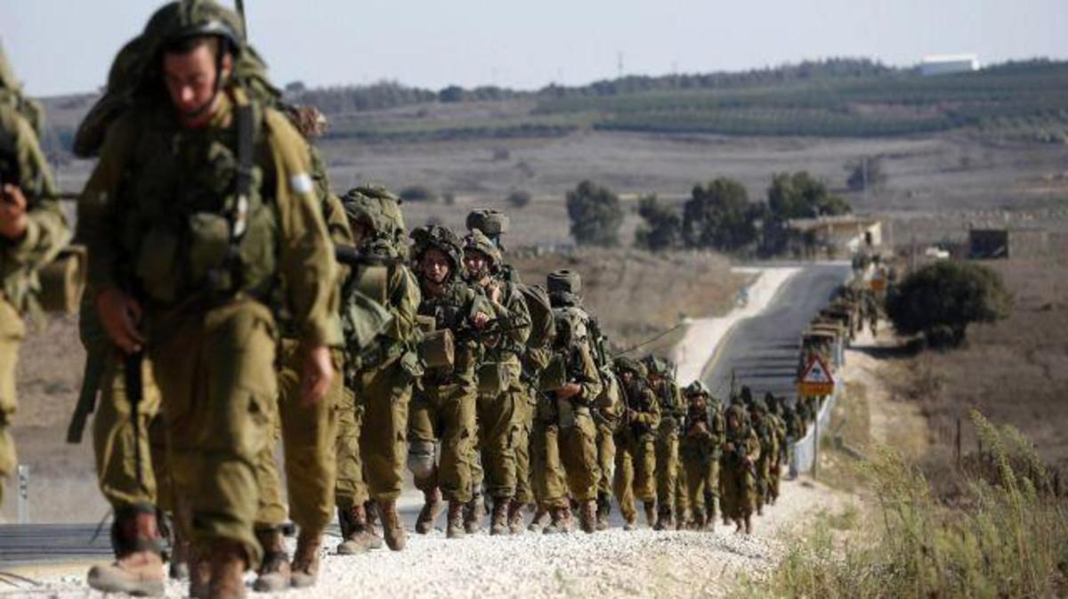 """صورة إسرائيل تهدد """"برد عنيف على أي انتشار للأسد في الجولان"""