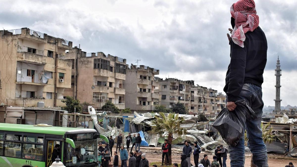 صورة النظام يصادر ممتلكات لمهجرين من ريف حمص