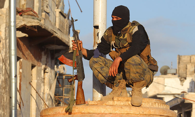 """صورة إدلب.. مقتل 10 عناصر من تنظيم """"حراس الدين"""""""