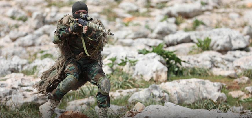 """صورة نجاة قيادي بـ""""تحرير سوريا"""" من محاولة اغتيال"""