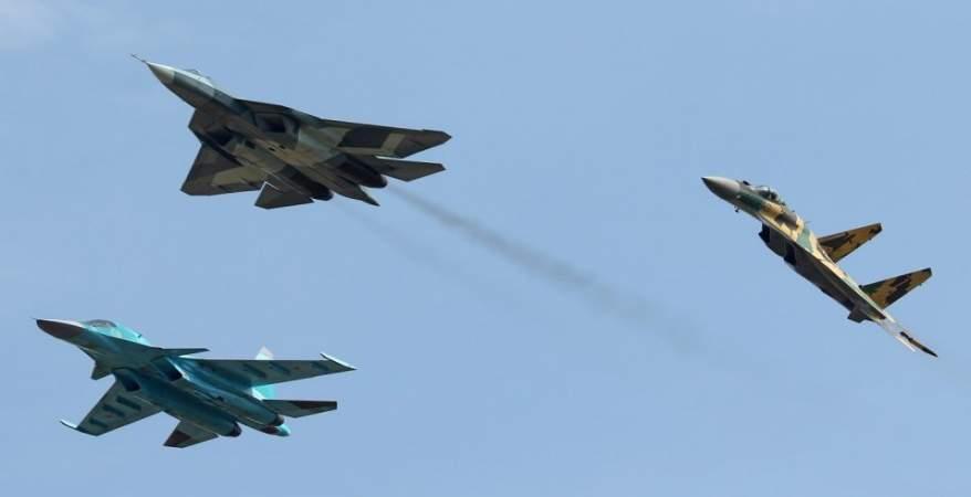صورة روسيا تقصف حوض اليرموك من أجواء الأردن وإسرائيل