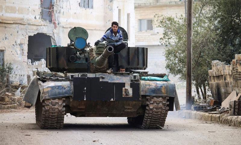 صورة غرب درعا.. مقتل 37 عنصراً للنظام