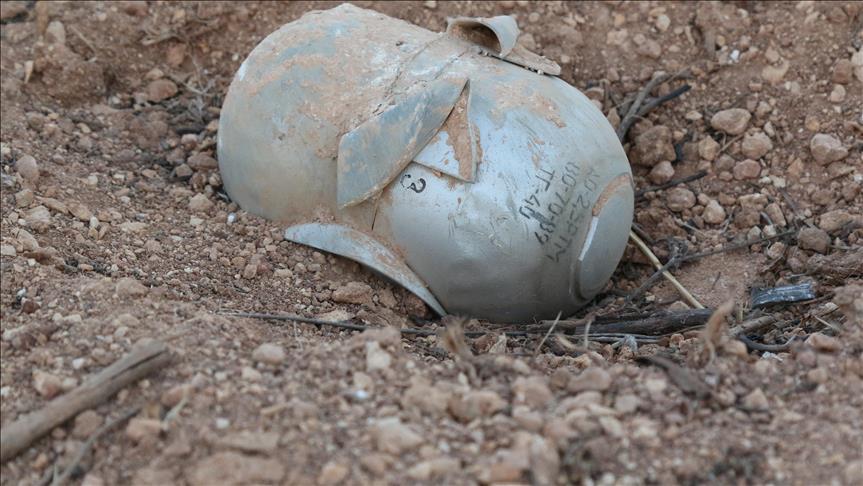 صورة طائرات الأسد ألقت 2900 برميل متفجر خلال 6 أشهر