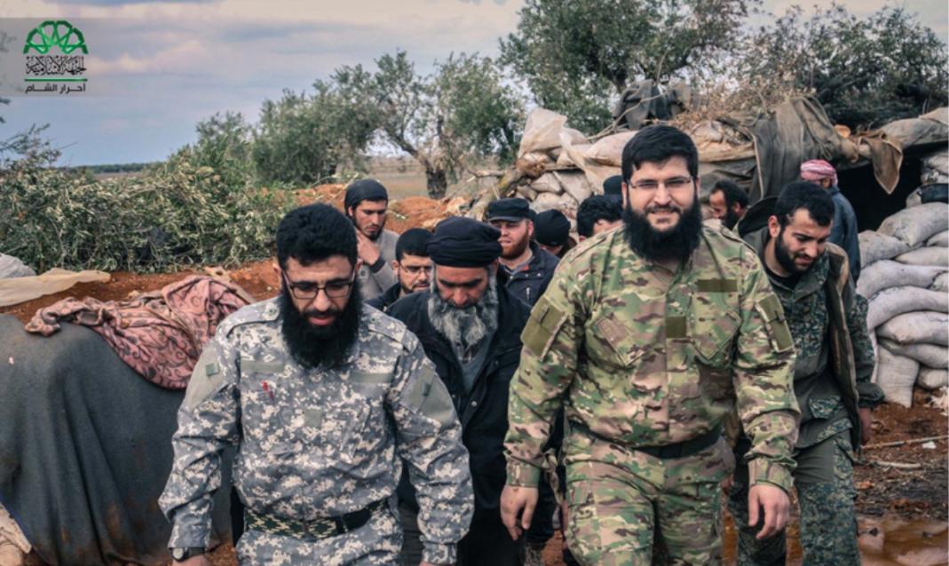 صورة علي باشا يخلف صوفان في قيادة أحرار الشام