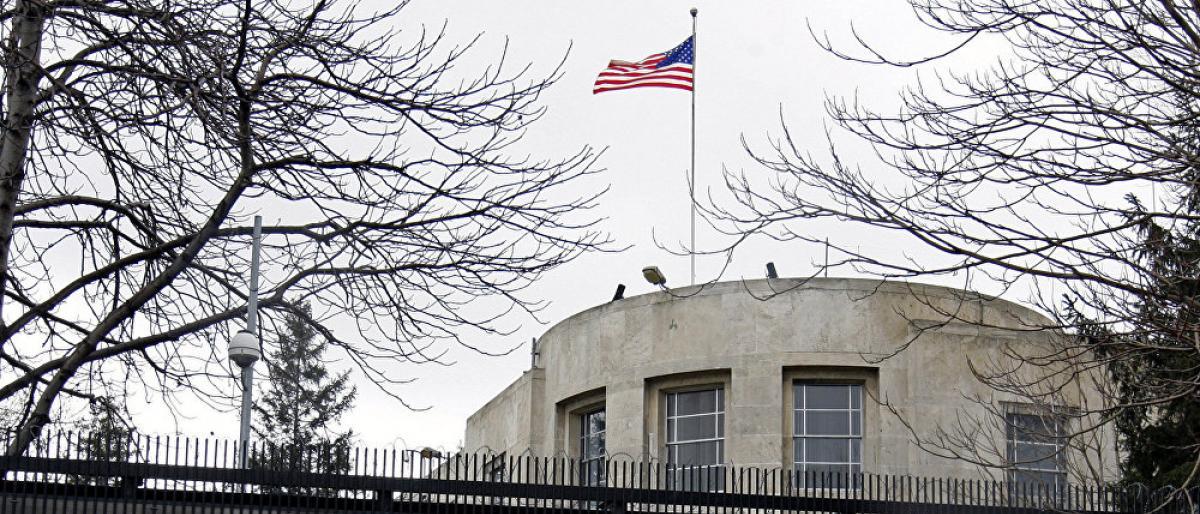صورة بالصور: إطلاق نار على سفارة أمريكا في تركيا
