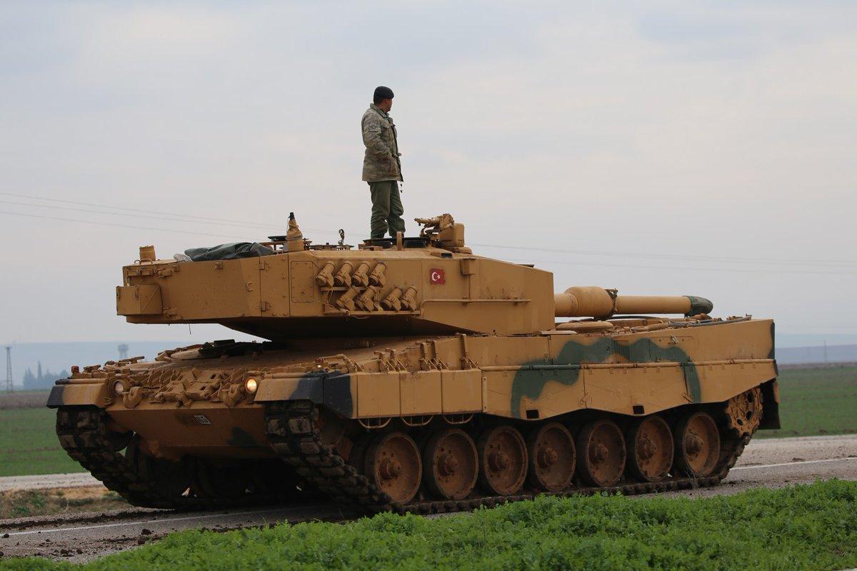 صورة اقتراب تدريبات الدوريات التركية الأمريكية المشتركة بمنبج