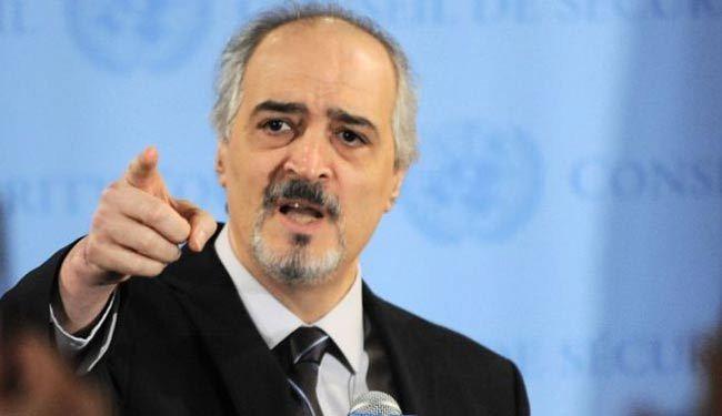 صورة بشار الجعفري: سنستعيد إدلب بالقوة
