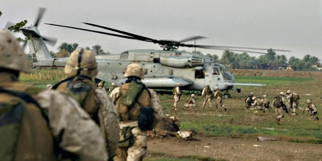 صورة تنظيم الدولة يهاجم أكبر قاعدة للتحالف الدولي بسوريا