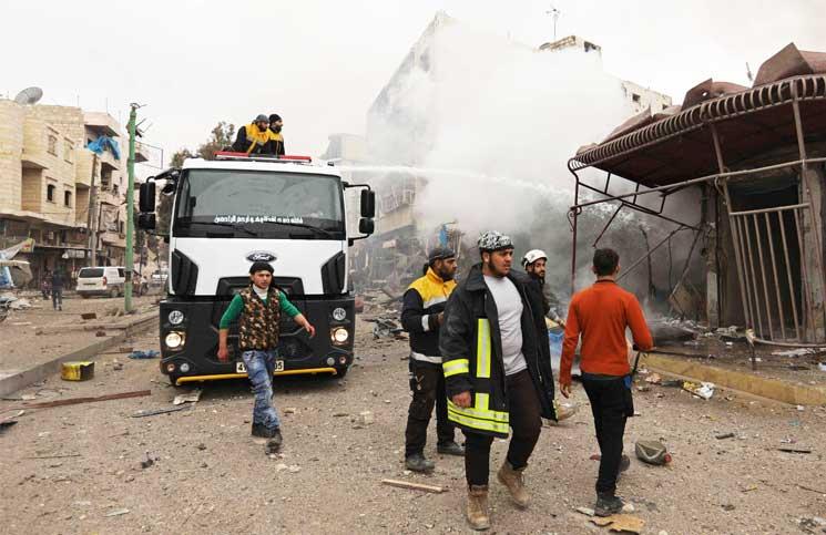 صورة 134 مدنيًا قتلوا في إدلب وحماة وحلب خلال أسبوع