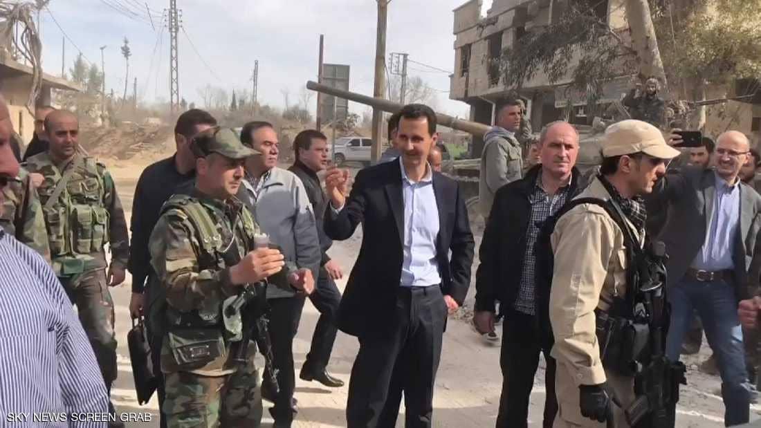 صورة اعتقال ونقل..حملة سرية ضد حرس الأسد