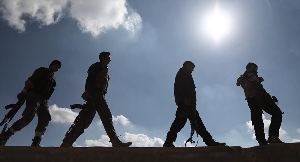 صورة جيش وطني سوري برعاية تركية.. من أعدائه؟