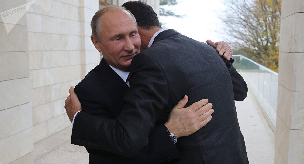 صورة إيران: الأسد يدرك بأننا حليفه الوحيد