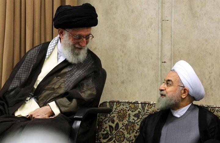 صورة مقرب من خامنئي: روحاني خائن ويهدد بقتله