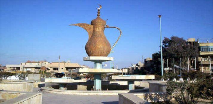 صورة واشنطن تعد سكان بلدة سورية بإعادة إعمارها