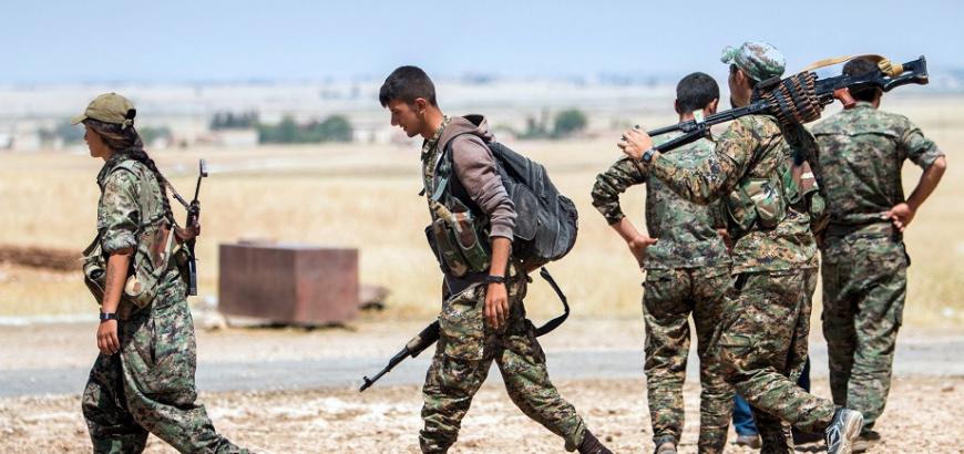 صورة الوحدات الكردية: مستعدون لحماية دروز السويداء