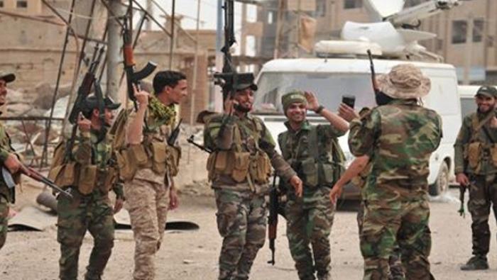صورة تعزيزات النظام في الشمال دفاعية أم هجومية؟