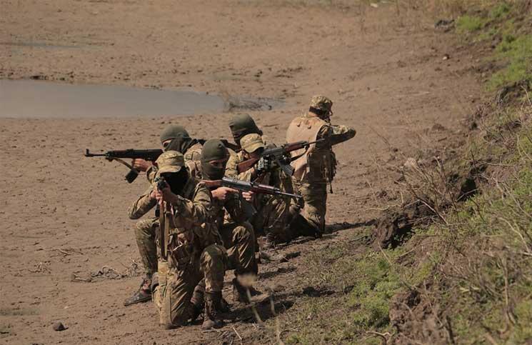 صورة جيش العزة يتوعد النظام السوري