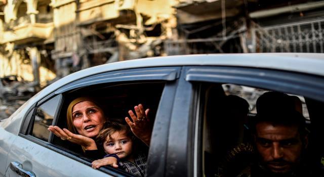 صورة التحالف: عودة 50 ألف سوري للرقة