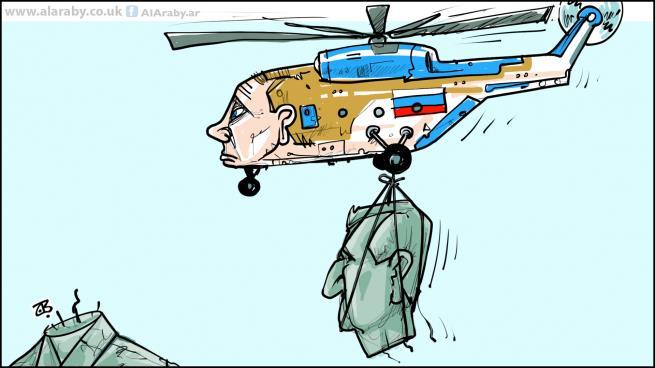 صورة روسيا وعقدة الحل في سورية